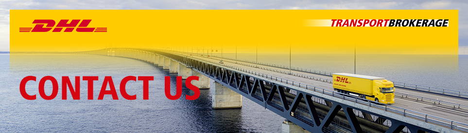 DHL Transport Brokerage - Contact us