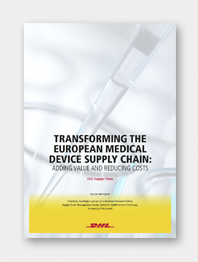 Transforming the European Medical Supply Chain