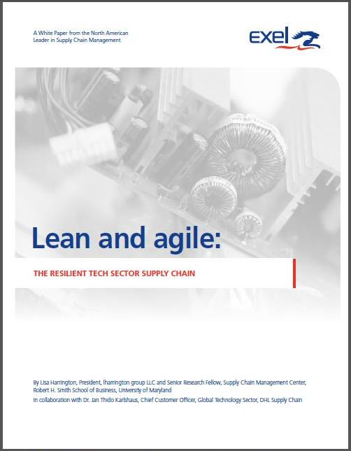 Technology sector volatility. New 'Lean and Agile' white paper.
