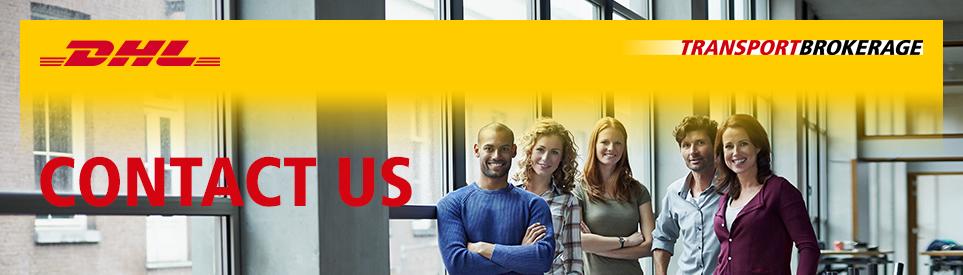 DHL Transport Brokerage - Contact us